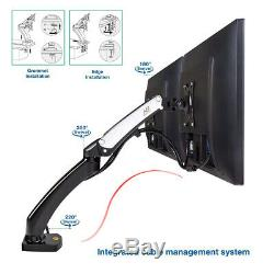 Dual Monitor Desk Mount Gas Spring Arm Stand Table Deskmount for LCD Screen USB