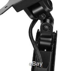 Dual Monitor Mount Desk Stand Adjustable Gas Spring Arm Tilt Swivel Rotate VESA