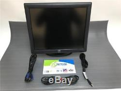 Elo Touch ET1715L 17 LCD Monitor ET1715L-8CWB-1-GY-G WITH STAND+VGA/USB/Power