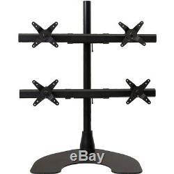 Ergotech 100-D28-B22-HD Quad HD LCD Monitor Desk Stand Monitor Stand