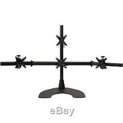 Ergotech Quad LCD Monitor Desk Stand 100D28B13