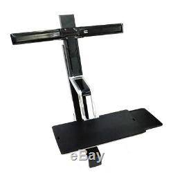 Ergotron 33-341-200 Dual 22 Display LCD Monitor Sit/Stand Workstation (NO VESA)