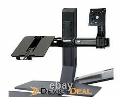 Ergotron 97-617 WorkFit Conversion Kit Dual to LCD & Laptop (Up to 24 Monitor)