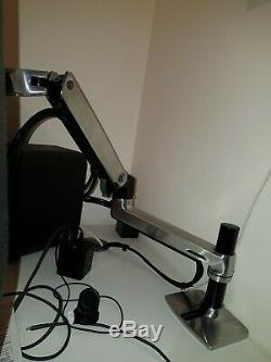 Ergotron LX Desk Monitor Mount LCD Arm Stand Polished Aluminum