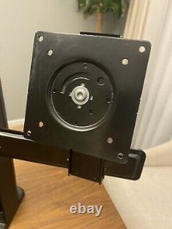 Ergotron NEO-FLEX DUAL LCD Monitor Notebook Cooler Mount Stand 33-331-085