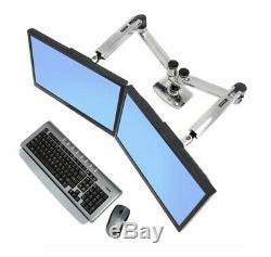 Ergotron monitor mount LX Dual Side-by-Side arm LCD Flatscreen mount twin double