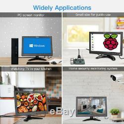 Eyoyo 10 pollici schermo LCD piccolo TV HDMI Monitor TV cucina 1024x600 + Stand