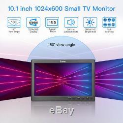 Eyoyo 10 pouces écran LCD TV cuisine petite TV HDMI moniteur 1024 x 600 + Stand