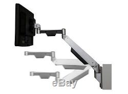 GSW130 Gas Spring Wall Mount LCD Monitor Stand with vesa bracket & monitor arm &