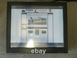 GVision P19BH-AB 19 LCD TFT Black Touchscreen Monitor VGA DVI No Stand