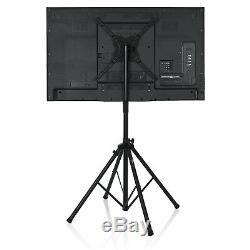 Gator Standard Adjustable Quadpod LCD/LED TV Monitor Stand For 65 Monitors