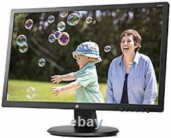 HP 24uh 24 FHD Monitor 2-Pack 1920x1080 HDMI/DVI/VGA Desk Mount Dual Stand