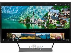 HP Black w Silver Stand 32 LED LCD 60Hz 2560x1440p 2k Monitor V1M69AA#ABA 32q