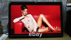 HP LCD Monitor 30 WithStand ZR30w Widescreen 2560x1600 With Cables Tested # 223