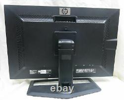 HP LCD Monitor 30 WithStand ZR30w Widescreen 2560x1600 With Stand & Cables Tested
