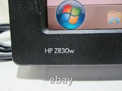 HP ZR30w 30-inch LCD Monitor 2560x1600 w Cables NO Stand Tested & Working