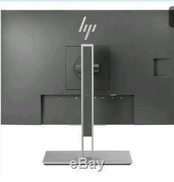 HP e243i LCD MONITOR 24 WITH STAND TILT, SWIVEL, PIVOT, WITH ACCESSORIES