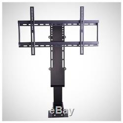 Heavy Duty Motorized TV LCD Monitor Lift Stand Remote Control 30 to 60 Steel