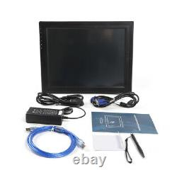 High Res USB 17 Inch LCD TouchScreen Monitor VGA HDMI Stand Touch Screen POS
