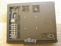 JVC DT-V20L1D 20 2 SDI Input Monitor with Rack Mount no Base/Stand