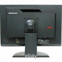 LENOVO ThinkVision L2240PwD 22 Flat Panel LCD Monitor VGA DVI No Stand