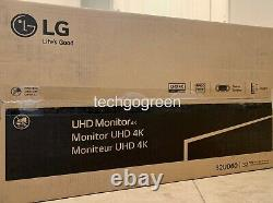 LG 32UD60-B 31.5 4K UHD FreeSync Monitor with Height Adjustable Stand NEW