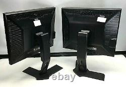 LOT OF 13 19 DELL P190ST P190SB LCD MONITOR With ROTATING STAND GRADE B