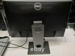 LOT OF 2 Dell U2412Mb 24 Widescreen LED Backlit LCD Monitor With STAND #DU24B