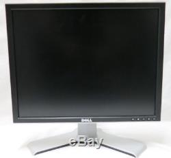 LOT OF 3 Dell 2007FP LCD Monitor WithSIMILAR STANDS With VGA & POWER CORDS ACCEPTABL