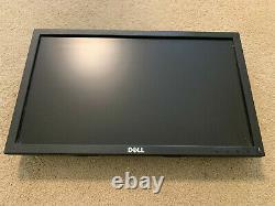 LOT OF 5 Dell 19 Black Widescreen LCD Monitors E1916H 1366x768 NO STANDS