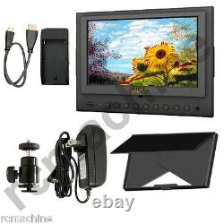 Lilliput 7 5D-II/O/P HDMI In &Out PEAKING Focus Assist Monitor+cable+shoe stand