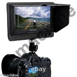 Lilliput 7 665GL-70NP/H/Y HDMI HD Monitor+hot shoe stand+BNC Adapter+HDMI cable