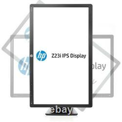 Lot2 HP Z23i Z Display 23inch Widescreen LED Monitor 1920x1080 WithStand +Cables