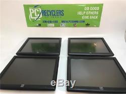 Lot 4x Elo Touch ET1715L 17 LCD Monitor ET1715L-8CWA-1-G NO STAND