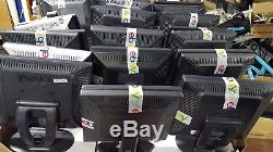 Lot of 100 Mixed Dell HP 17 LCD Monitors with Stands TESTED Grades A, B, C