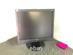 Lot of 15- ViewSonic VA705B 17-inch LCD Monitor 1280 x 1024 w Stand & Power Cord