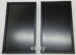 Lot of 2 Dell E2011HT 20' LCD MONITOR WITH STAND WIDE SCREEN