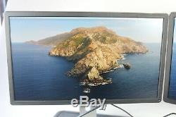 Lot of (2) Dell P2414Hb 24-Inch HD LCD LED-Lit Monitors used Grade B with Stands