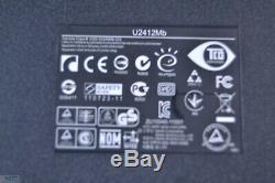 Lot of 2 Dell UltraSharp U2412Mb 24 LED-Backlit LCD Monitor NO Stand J070909
