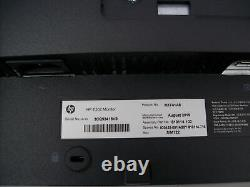 Lot of 2 HP E202 20 2019 LED LCD Dual Monitor 1600 x 900 VGA DP HDMI No Stand