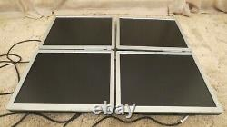 Lot of 4 HP LA1951g 19 Monitor (Grade B minor scratch on screens) Without Stand