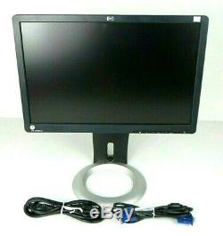 Lot of 8 HP L1908WM 19 Widescreen 1440 x 900 LCD Display withErgotron Stand