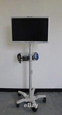 MONITOR 3 CONMED HD 26 LCD MONITOR VP4726 With POWER SUPPLY & MOBILE STAND