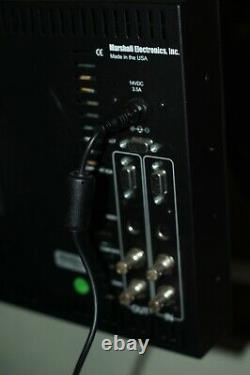 Marshall V-r171p- Hd 17 LCD Video Monitor For Hdsdi Video Camera Desktop Stand