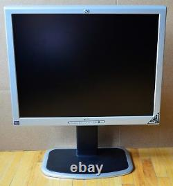 Monitor HP Model 2035 20 LCD Monitor With Stand Used Works Great