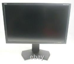 NEC MultiSync PA242W 24 1920 x 1200 HDMI DP DVI LED Monitor Fair withStand