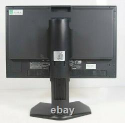NEC MultiSync PA242W PA242W-BK 24 1920 x 1200 HDMI DP DVI LED Monitor with Stand