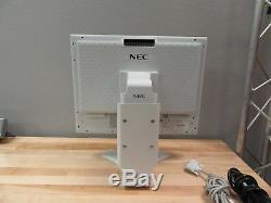 NEC Multisync LCD 2090UXi-1-WH-L 20 Color-Critical Desktop Monitor Stand White
