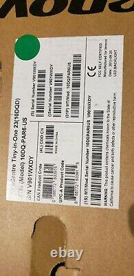 NEW Sealed Lenovo ThinkCentre Tiny-In-One 23 10DQD LCD Monitor With Stand/Base
