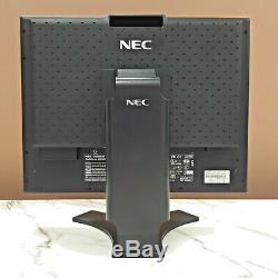 Nec Multisync 2090UXi-BK 20 LCD Monitor(Black) DVI-D, DVI-I, VGA inputs withstand